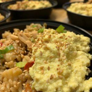 Vegan Fried Rice Bowl